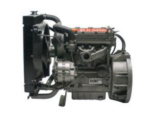 Kama KM375FE diesel engine