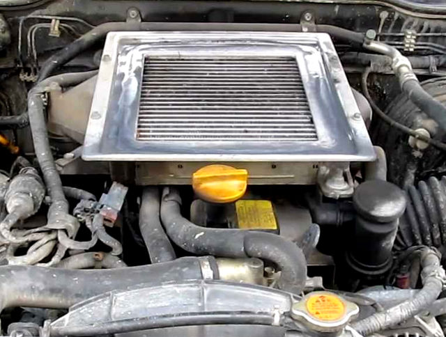 Nissan TD27Ti (2 7 L) turbochargered diesel engine: specs