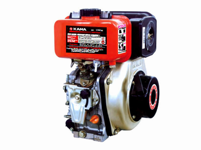 Kama KM186F/E (406 cc, 9 0 HP) small diesel engine: review