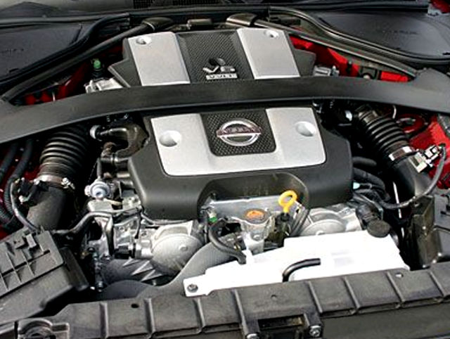 Nissan VQ37VHR (3 7 L) V6 engine: review and specs