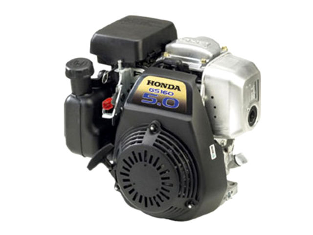 Honda gs160 5 0 hp small engine with horizontal shaft for 5 hp motor specification