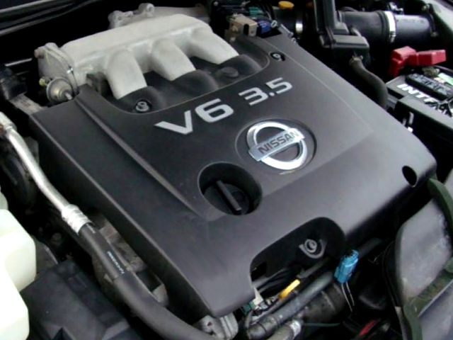 Nissan VQ35DE / Renault V4Y (3 5 L) engine: review and specs