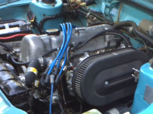 Nissan L16T Twin carb engine
