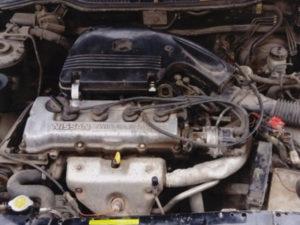 Nissan GA14DS carbureted engine