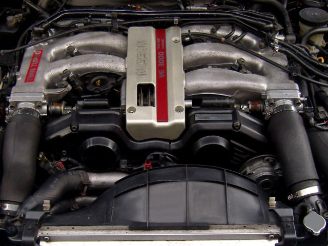 Nissan VG30DETT (3 0 L, 24 valve) twin turbochargered V6