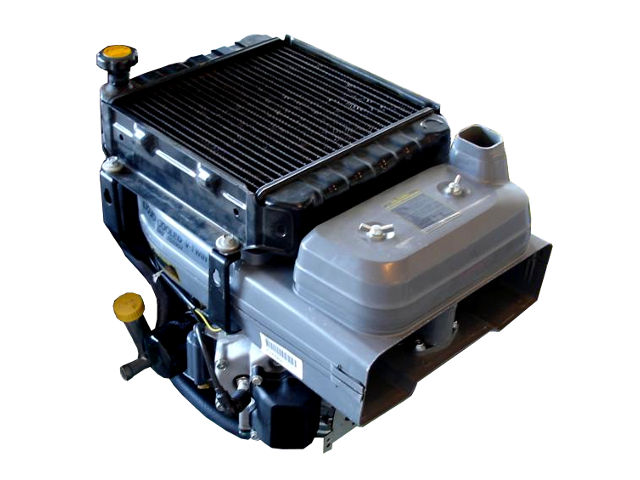 Kawasaki FD590V (585 cc, 18 0 HP) water-cooling vertical engine