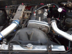 Nissan CA18DET turbo engine