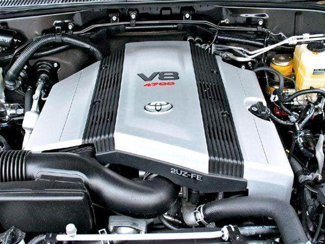 Toyota 2uz Fe 4 7 L V8 Doch Engine Review And Specs Service Data