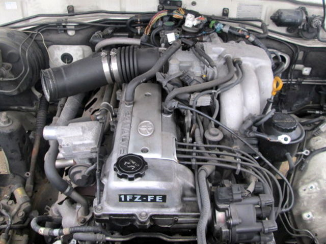 Toyota 1FZ-FE (4 5 L, DOHC) engine: specs and review, service data